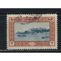 Турция Османская Имп. 1918 Константинополь Топканы #635A.