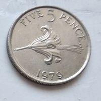 Гернси 5 пенсов, 1979 3-11-18