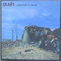 Rush - A Farewell To Kings (1977, Audio CD, mini LP, ремастер)