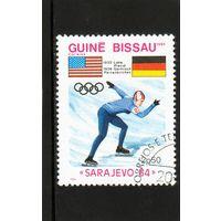 Гвинея-Биссау.Коньки.Олимпийские игры.Сараево.1984.