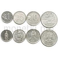Парагвай 4 монеты 1978-1988 годов VF-UNC