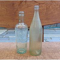 Старые бутылки.