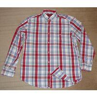 Рубашка Harvey Parker 100 % хлопок оригинал.48 (M).178см, ворот 39-40.