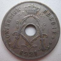 Бельгия 25 сантимов 1921 г. Belgie (g)
