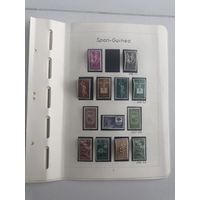Листы с чистыми марками Испанской Гвинеи. Много дорогих марок. Все на фото!  С 1 руб!
