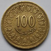 Тунис, 100 миллимов 2011 г