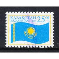 2004 Казахстан. Национальный флаг