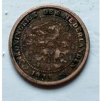 Нидерланды 1/2 цента, 1914 1-11-27