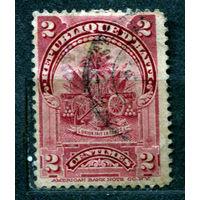 Государственный герб. Гаити. 1898