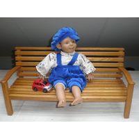 Характерная кукла 38 см.
