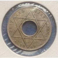 Британская Западная Африка колония 1/10 пенни 1949 Георг VI