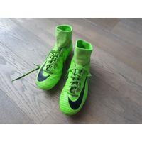 Бутсы Nike с поддержкой голеностопа, р-р 37.