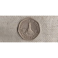 Гернси 20 пенсов 2002 /(Va)