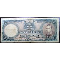 Фиджи, 5 шиллингов 1937 год, Р37