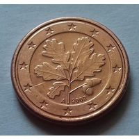 1 евроцент, Германия 2002 A