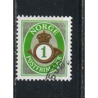 Норвегия 2001 Почтовый рожок Cтандарт #1380