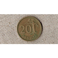 Финляндия 20 пенни 1977(Oct)