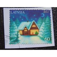 Латвия 2012г. Рождество.