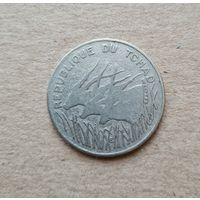 Чад 100 франков 1975 (Republique du Tchad 10 francs 1975)