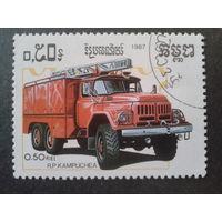 Кампучия 1987 пожарная машина