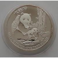 """Ниуэ 2017 серебро (1 oz) """"Панда"""""""