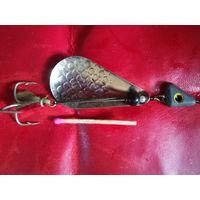 Блесна для рыбалки вертушка СССР в коллекцию настоящему рыбаку