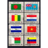 1980 ООН. Флаги