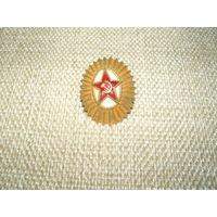 Кокарда латунная ВС СССР # 1, 50-е