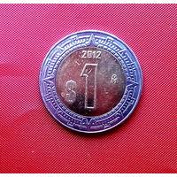 83-14 Мексика, 1 песо 2012 г.