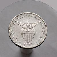Филиппины 1 песо 1903 СЕРЕБРО