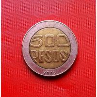 89-12 Колумбия, 500 песо 2005 г.