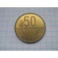 Коста-Рика 50 колон 2007г.km231.1b