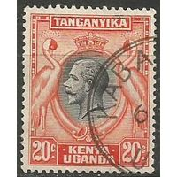 Кения Уганда и Танганьика. Король Георг V. 1935г. Mi#35.