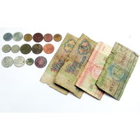 Монеты + банкноты