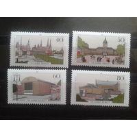 Берлин 1987 750 лет Берлину Михель-5,0 евро полная серия