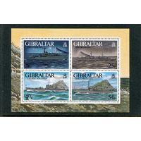 Гибралтар. Корабли второй мировой войны, блок. Вып.4