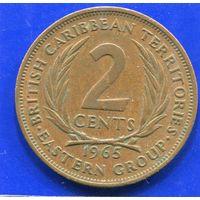 Карибские острова 2 цента 1965