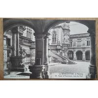 Старинная открытка. Дворец Бенедиктина (Франция, Фекан). Чистая.