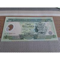 Соломоновы острова 2 доллара