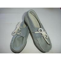 Туфли детские натуральная кожа новые р-р 19