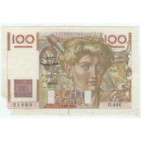 Франция, 100 франков 1952 год.