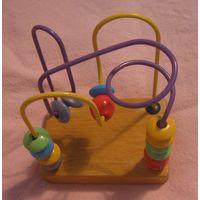 Лабиринт - деревянная развивающая игрушка