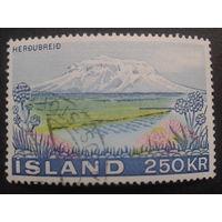 Исландия 1972 гора, цветы