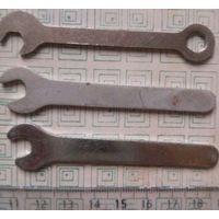 3 маленьких гаечных ключа, от детского набора-конструктора, ссср, б-у ; 1 руб