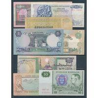Набор Банкнот ЛИВАН, ГРЕЦИЯ, ЕГИПЕТ, УКРАИНА, АЗЕРБАЙДЖАН, ШВЕЦИЯ, ОАЭ. Боны 8 штук. Есть Редкие