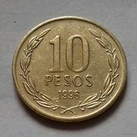 10 песо, Чили 1996 г.