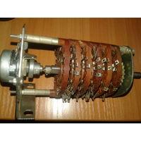Переключатель поворотный галетный с резистором