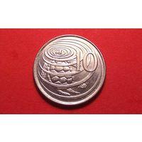 10 центов 1992. Каймановы острова.