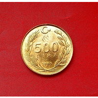 35-13 Турция, 500 лир 1989 г.