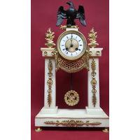 Шикарные Старинные Каминные часы ,Франция